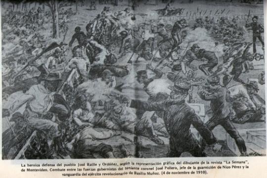 combate de 1910