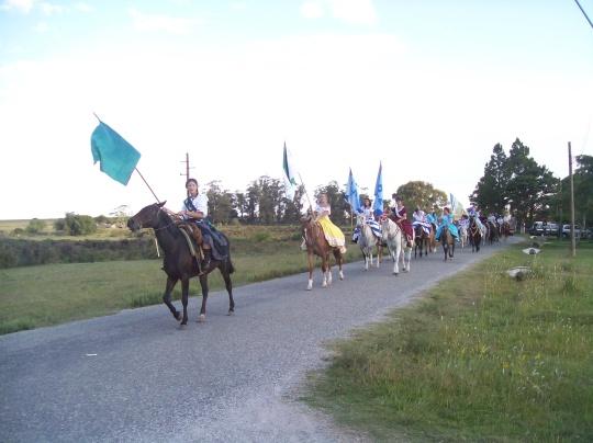 Desfile de La Flor del Pago