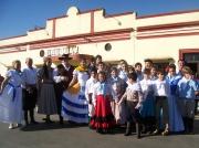 Peña Aniversario, encuentro de danzas en el Club Uruguay