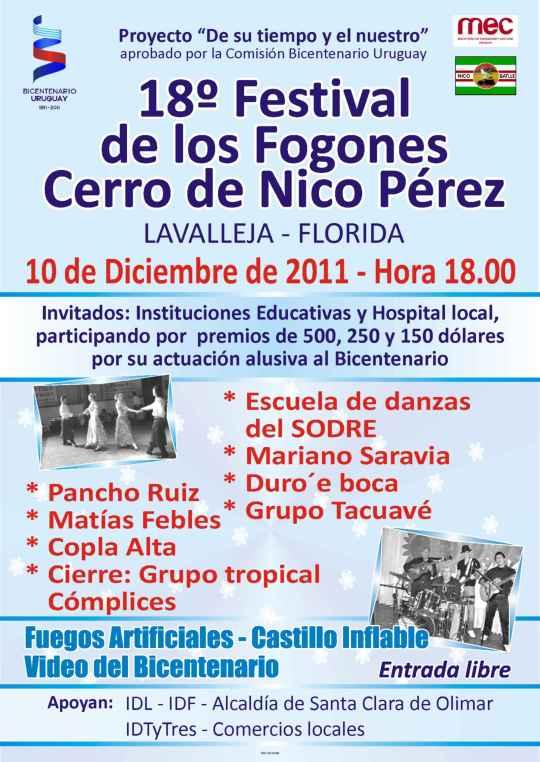 Festival Fogones Nico PérezAfiche2011(1)