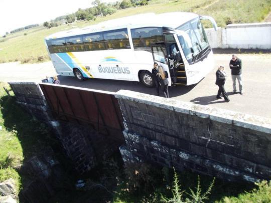 El puente de los dos Combates en Nico Pérez
