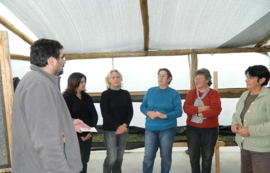 Con Grupo de Mujeres Hierbas y Frutos Nativos del Severino (2)