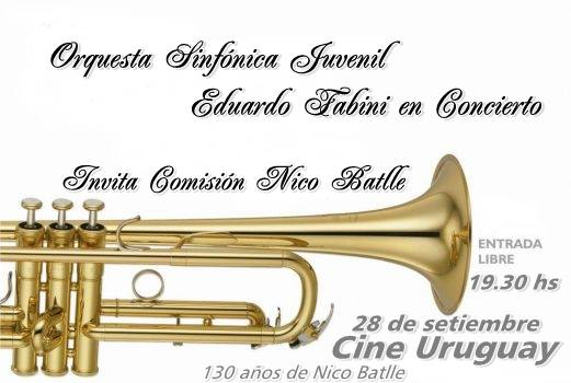 invitación OrquestaLavalleja